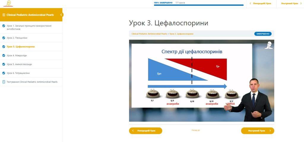 Онлайн курси з сертифікатом для лікарів